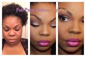 full face makeup application watch me beat my face