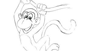 Curious George Coloring Pages Photos For Toddlers Christmas Happy