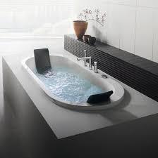 built in bathtub