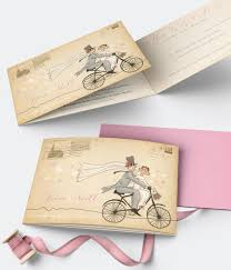 cartoon wedding stationery