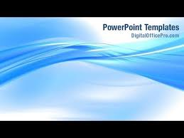 wave powerpoint templates abstract blue wave powerpoint template backgrounds