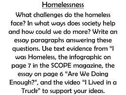 homelessness what challenges do the homeless face in what ways  1 homelessness