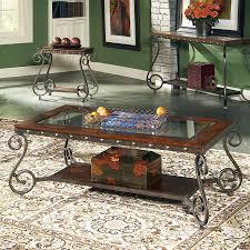 steve silver company ellery glass coffee table