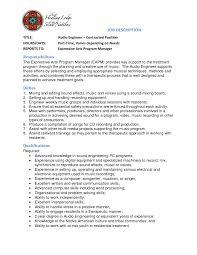 Audio Engineering Invoice Template Contract Engineer Sample Resume