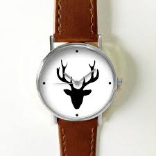 antler watch deer watches for men women leather ladies vintage antler watch deer watches for men women leather ladies vintage jewelry accessories gifts spring fashion unique