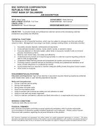 Objective Statement For Teller Resume Bank Cover Letter Head