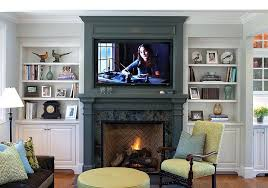 pictures of tv over fireplace view in gallery giving the fireplace mantel and the backdrop a uniform look pictures of fireplace tv stands