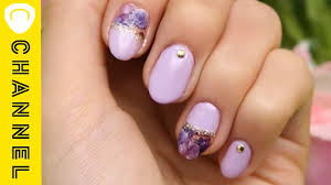 All100均ブーケネイル Bouquet Nail Youtube