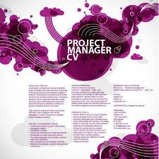 Pic Artistic Project Manager Cv Sample Is A Creative Resume