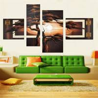 asian landscape art uk hand painted 4 pcs set set modern asian art abstract landscape on asian wall art uk with shop asian landscape art uk asian landscape art free delivery to