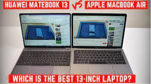 Watch: Huawei MateBook 13 Vs MacBook Air – Gadget Voize
