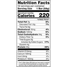 amazon gatorade whey protein with almond er bars chocolate chip cookie dough 2 0 ounce bars pack of 12 20g of protein per bar grocery