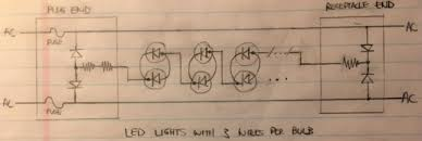 wiring diagram for 3 wire christmas lights the wiring diagram i want to repair an led christmas light string 3 wires per wiring diagram