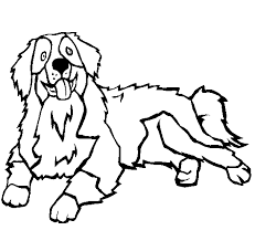 Kleurplaat Berner Sennen Hond Kleurplaten Van Honden Fris Hond