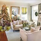 Salas decoradas navidad
