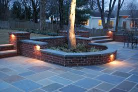 brick wall lighting. seating wall lighting jacksonville middleburg saint augustine fl beyond pavers brick m