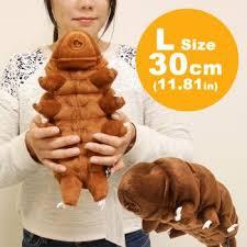 tardigrade actual size strapya world sea creature tardigrade water bear plush l size 30