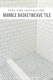 marble basketweave tile. Tips For Installing Marble Basketweave Floor Tile In Your Bathroom And Shower