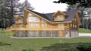 log cabin floor plans with walkout basement you loft and maxresde