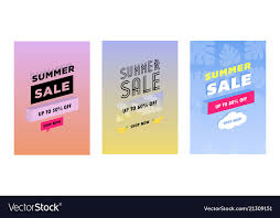Summer Gift Tags Summer Set Of Sale And Gift Tags Labels With Fun