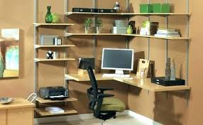 wall mounted office. Wall Mount Office Organizer Wood Mounted Shelving Fascinating The Solution To Ge .