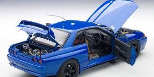 nissan skyline 2015 blue. Wonderful Nissan AUTOart Nissan Skyline GTR R32 Plain Body U2013 BlueBlack On 2015 Blue E