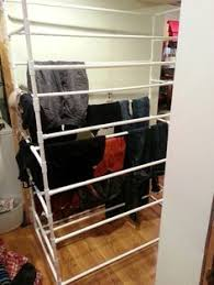 Pvc Pipe Coat Rack Diy Closet Made From Pvc Pipe Cost 100 What I Noticed Is The Dog 33