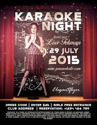 talent show flyer template free freepsdflyer download free karaoke flyer psd templates for photoshop