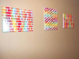 full size of diy canvas art ideas easy painted bricks for baby girl nursery scenic furniture
