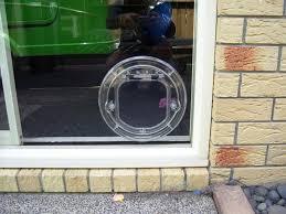glass door for pets