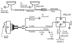 12v power wheels wiring diagram wiring tips using relays offroaders com wiring tips using relays