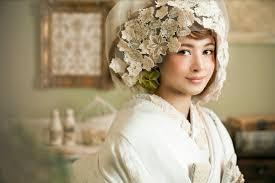 プレ花嫁にオススメレースの綿帽子で最新和装スタイルが叶うaim