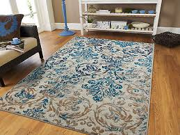 modern rugs blue gray area rug 8x10 living room carpet 5x8 chrysanthemum rugs 2x