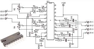 amplifiers circuit diagram the wiring diagram power amplifier circuit diagram