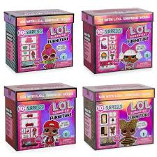 Набор <b>мебели</b> с куклой ЛОЛ сюрприз <b>L.O.L.</b> Surprise Furniture ...