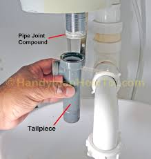 How To Replace A PopUp Sink Drain Remove The Old Drain - Plumbing bathroom sink