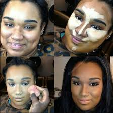 how the contouring makeup works