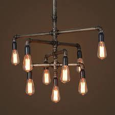 edison light chandelier light bulb chandelier pipe light bulb vintage silk industry pipe model edison light chandelier bulb