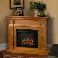 perfect corner electric fireplace entertainment center