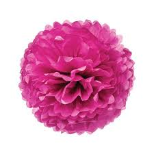 Tissue Paper Flower Ideas Tissue Paper Pom Pom 10 Inch Sorbet Pink For Baby Showers Nurseries And Parties Hanging Paper Flower Decorations
