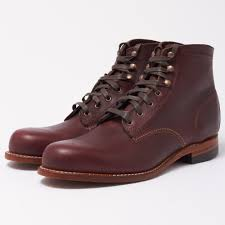 wolverine 1000 mile cordovan leather boot 781030