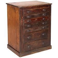 Vintage factory furniture Rothbartsfoot Vintage Industrial Distressed Wooden Flat File Factory Storage Cabinet For Sale 1stdibs Vintage Industrial Distressed Wooden Flat File Factory Storage