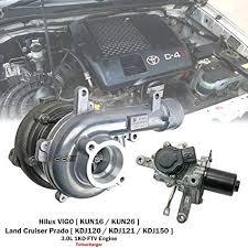 Amazon.com: Turbo Turbocharger For Toyota Hilux VIGO D4D KUN26 1KD ...