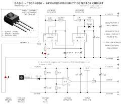 infrared proximity detector basic infrared proximity detector circuit the following schematic is for