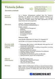 Executive Assistant Resume Templates New Executive Assistant Resume Examples 48 Resume 48