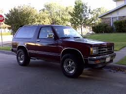 Blazinater 1989 Chevrolet S10 Blazer Specs, Photos, Modification ...
