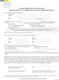 Hipaa Authorization Form Enchanting Hipaa Medical Records Release Form Template 48 Hospital Discharge