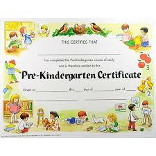 Pre K Certificate Templates Kindergarten Awards Certificates