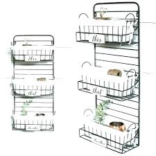 metal wall basket wire wall basket with rod metal wall basket with hooks wire bask wire