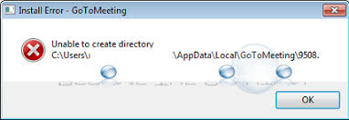 Create A Directory Fix Unable To Create Directory Gotomeeting